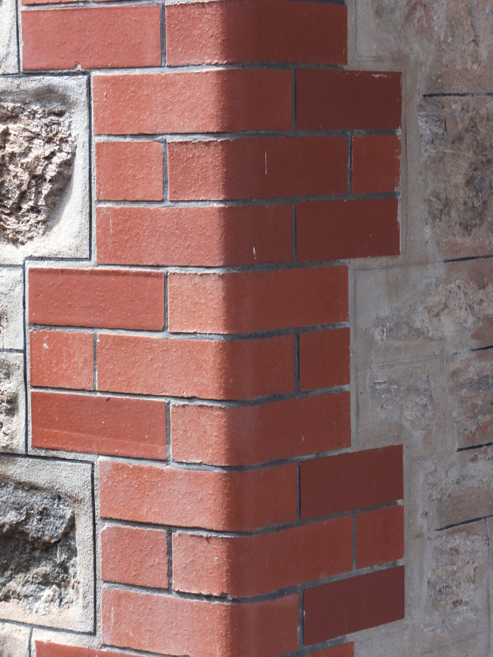 Heritage and conservation for Brick quoin corners