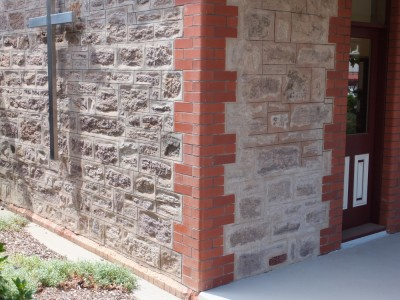Brickwork for Brick quoins